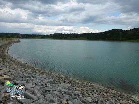 Site de pêche du plan d'eau de Lazer