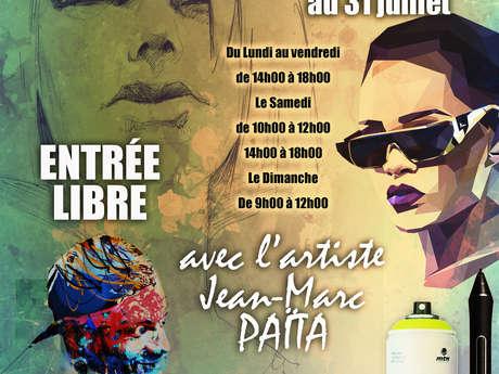 Art Expo avec l'artiste Jean-Marc Païta
