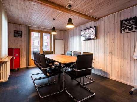 Mountain Hub Verbier - Salle de réunion