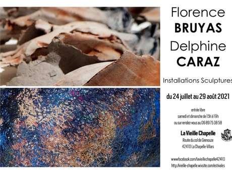 Estivales 2021 - Installations Sculptures Florence Bruyas - Delphine Caraz