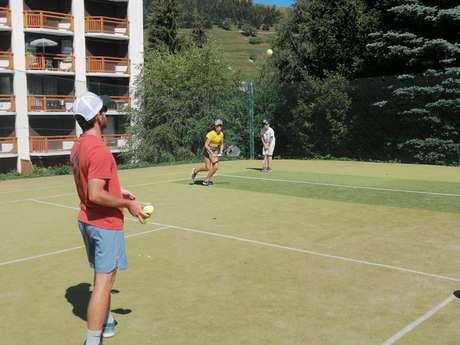 Tennis lessons, tournaments - Tennis Club Les 2 Alpes
