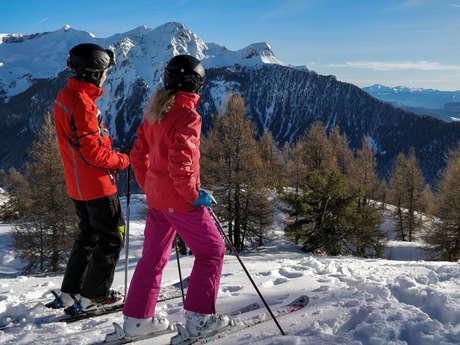 Ski alpin à Laye - ESF de St-Léger-les-Mélèzes
