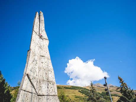 Climbing Wall Les Aiguilles de Champamé