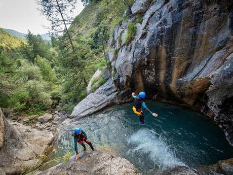 Canyon de Rouanne - Bureau des Guides Champsaur Valgaudemar