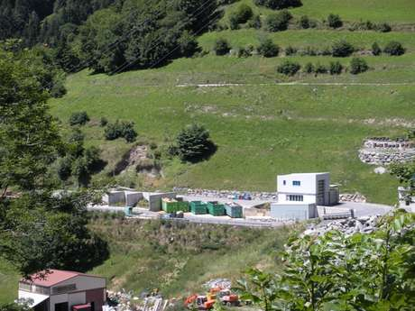Waste sorting centre of Verbier