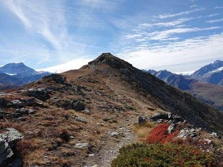Cabane de Mille et Mont Brûlé
