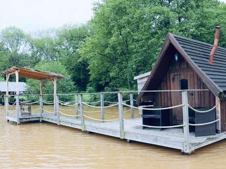 Le nichoir flottant des Canards (gamme confort) 2 personnes
