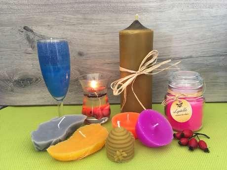 Les bougies Lystelle