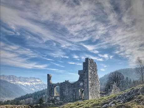 Ruines du Château de Montbel