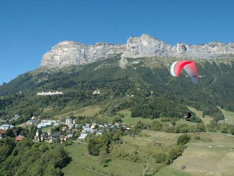 Traversée du Grésivaudan 3  De Le Touvet  à Bernin