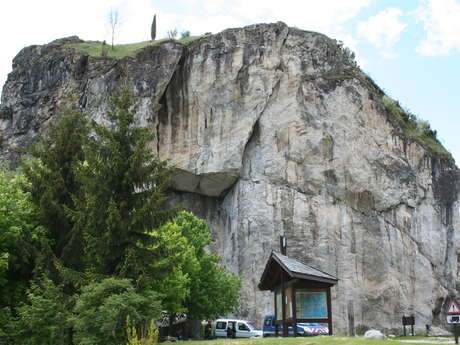 Climbing rock Le rocher des Amoureux
