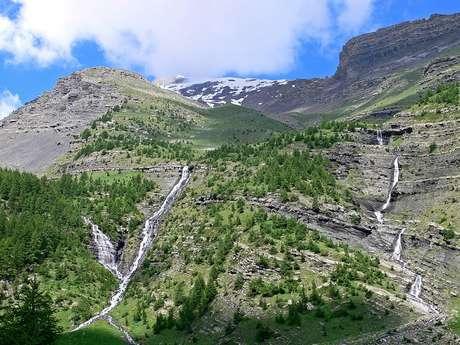 Rando-Famille : Cascades et Marmottes