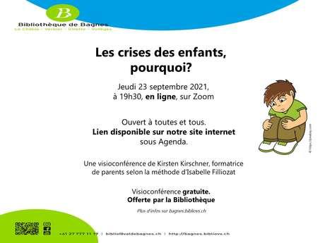 """Filliozat conference : """"Les crises des enfants, pourquoi ?"""""""