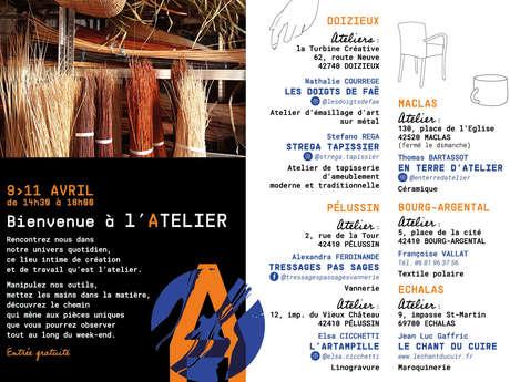 """Les Journées Européennes des Métiers d'Art """"Bienvenue à l'atelier"""""""