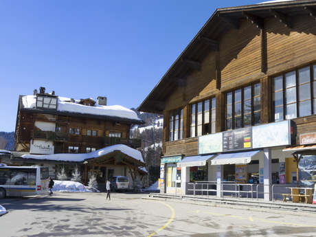 Caisses & Infopoint Savoleyres (Verbier)