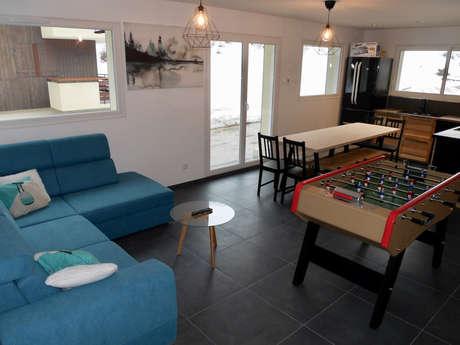 LES ECRINS 6 2 HAUT (Les 2 Alpes 1800) Appartement 12 personnes