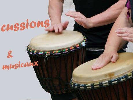 Atelier estival enfants - Percussions et jeux musicaux