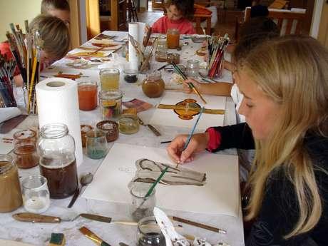 Initiation Peinture aux Pigments Naturels - Enfants