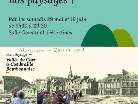 Plan Paysage : ateliers cartographie et scénario