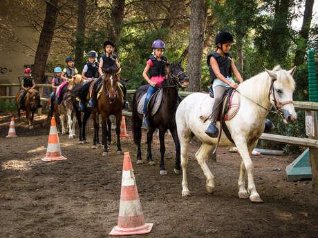 Sortie cavaliers moyens - Les Ferrières