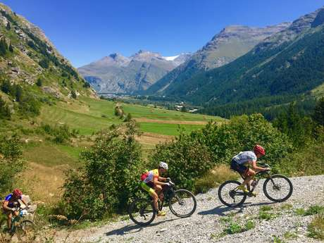13 - Cross-country - Rouge - Lac du Mont Cenis