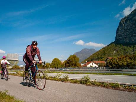 Boucle vélo  Confluence Isère Drac