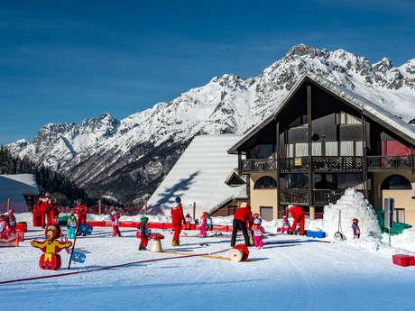 Ski kindergarten with ESF