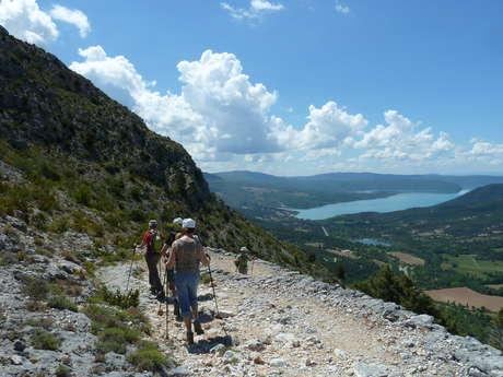 Rando passion : les hauteurs de Moustiers-Sainte-Marie