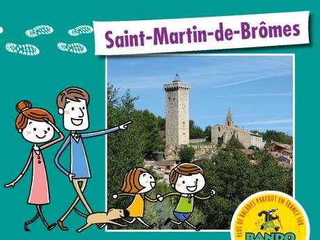 Balade ludique Randoland à Saint-Martin-de-Brômes