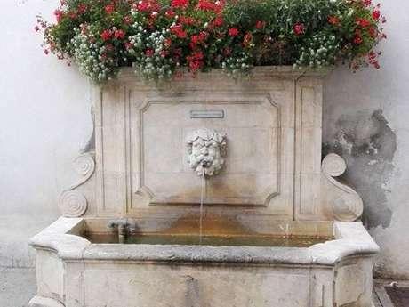 Gap au fil de l'eau : fontaine Sainte Marguerite