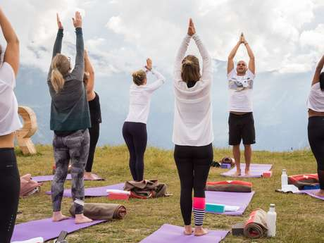 Yoga in luftiger Höhe (Erwachsene)