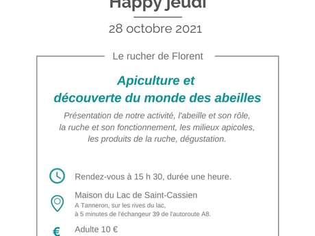 Happy jeudi Rucher de Florent