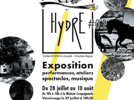 Hydre expo d'arts visuels , journée du 1er août