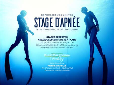Stage d'apnée pour ados - Blue Caledonia Freediving
