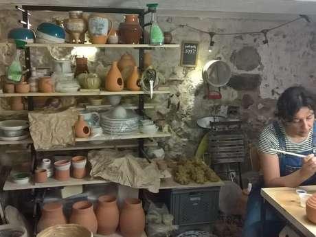 Atelier de poterie Rachel pot'o'roses
