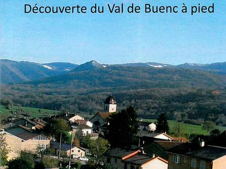 Découverte du Val de Buenc à pied
