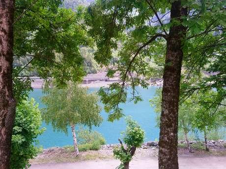 Cyclo - Le lac du Verney