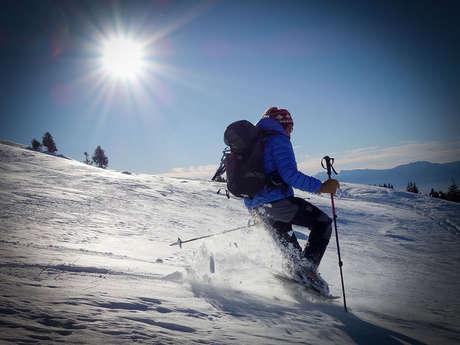 """The """"polar"""" snowshioeing tour"""