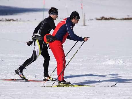 Cours particuliers de ski nordique avec l'ecole de ski Français Chartreuse