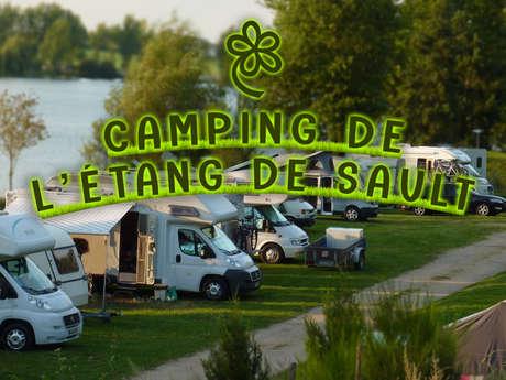 Camping de l'étang de Sault
