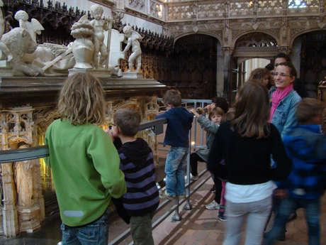 NOUVEAUTÉ ! Visite Il était une fois… le monastère royal de Brou pour les plus petits