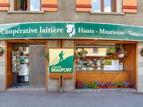 Fromagerie coopérative - Rue principale de Lanslebourg