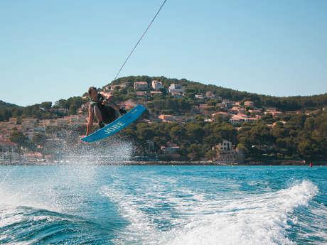 Cours et stages de ski nautique ou wakeboard - Wake sensation