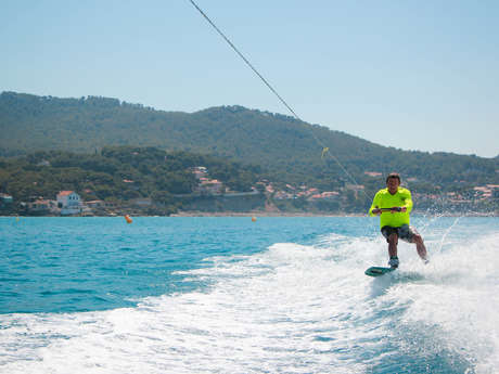 Cours particulier ou collectif de Wakesurf / Wakeboard - New Gliss