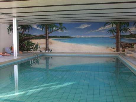 Swimming pool & Sauna La Tzoumaz