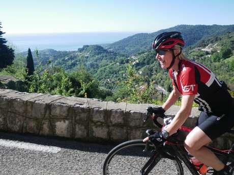 Route du Tour et des Classiques des Alpes d'Azur - La Colle-sur-Loup