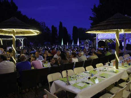 Restaurant du Camping La Vallée de Taradeau