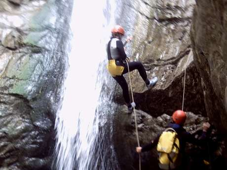 Canyoning : Back to the tree