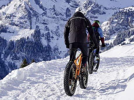Fat bike à Assistance Électrique - La Tribu Rando de Seb