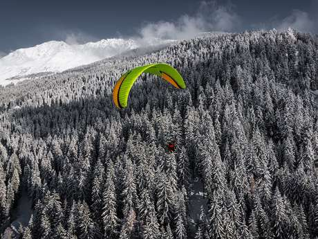 Paragliding with Verbier Summits